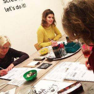 handlettering workshop leeuwarden
