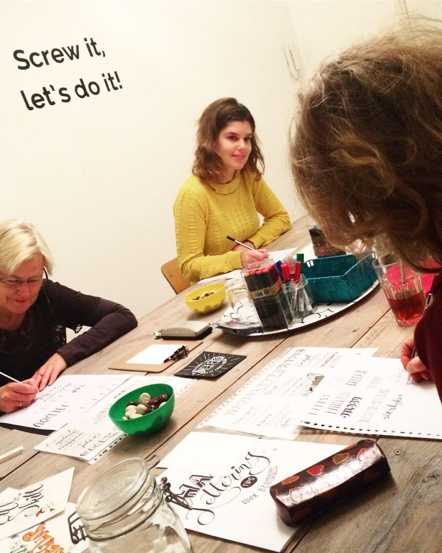 handlettering workshop leeuwarden