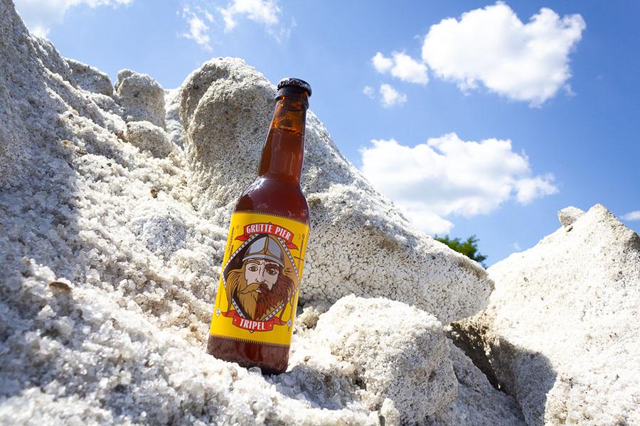 Zout berg en bier